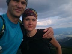 Foto na Ťavých Hrboch, trocju tu vyzeráme ako mladomanželia ale ináč v pohode :D