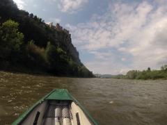 výhľad na Strečnianský hrad