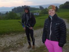 Januška stále usmievava, no nechoďte 200km ked viete že bude na trase :)