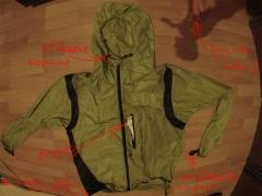 funkčné prvky bundy Camp Magic Jacket