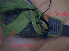 bunda Camp Magic Jacket napchatá v kapsičke