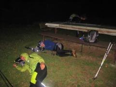 jedna z nocí kde mi robila prikrývku na 200km projekte