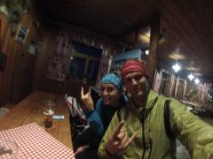 jeden z nespočetných výstupov na horskú chatu Kľačianská Magura