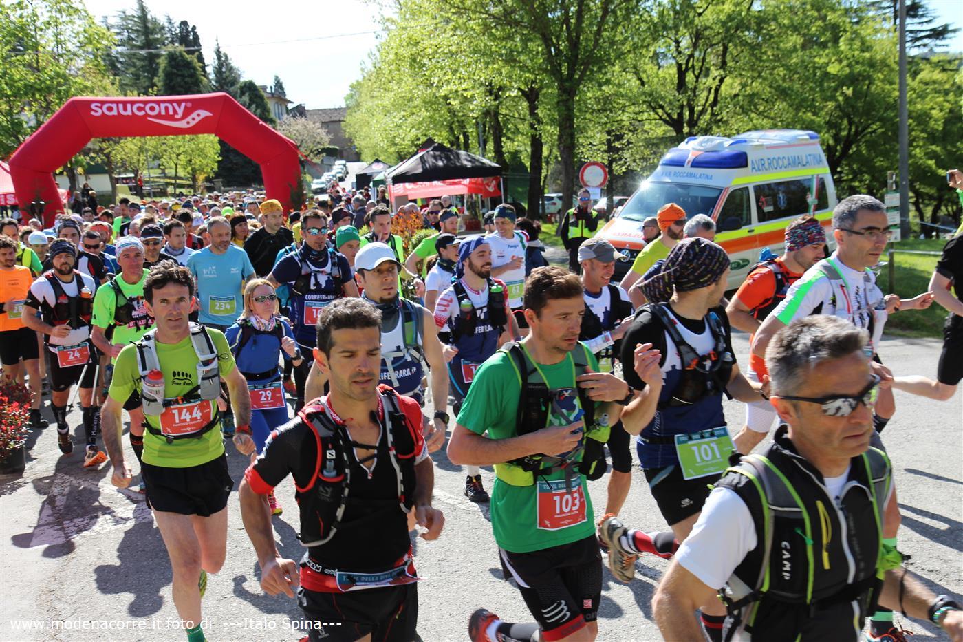 Trail Della Riva - Štart závodu
