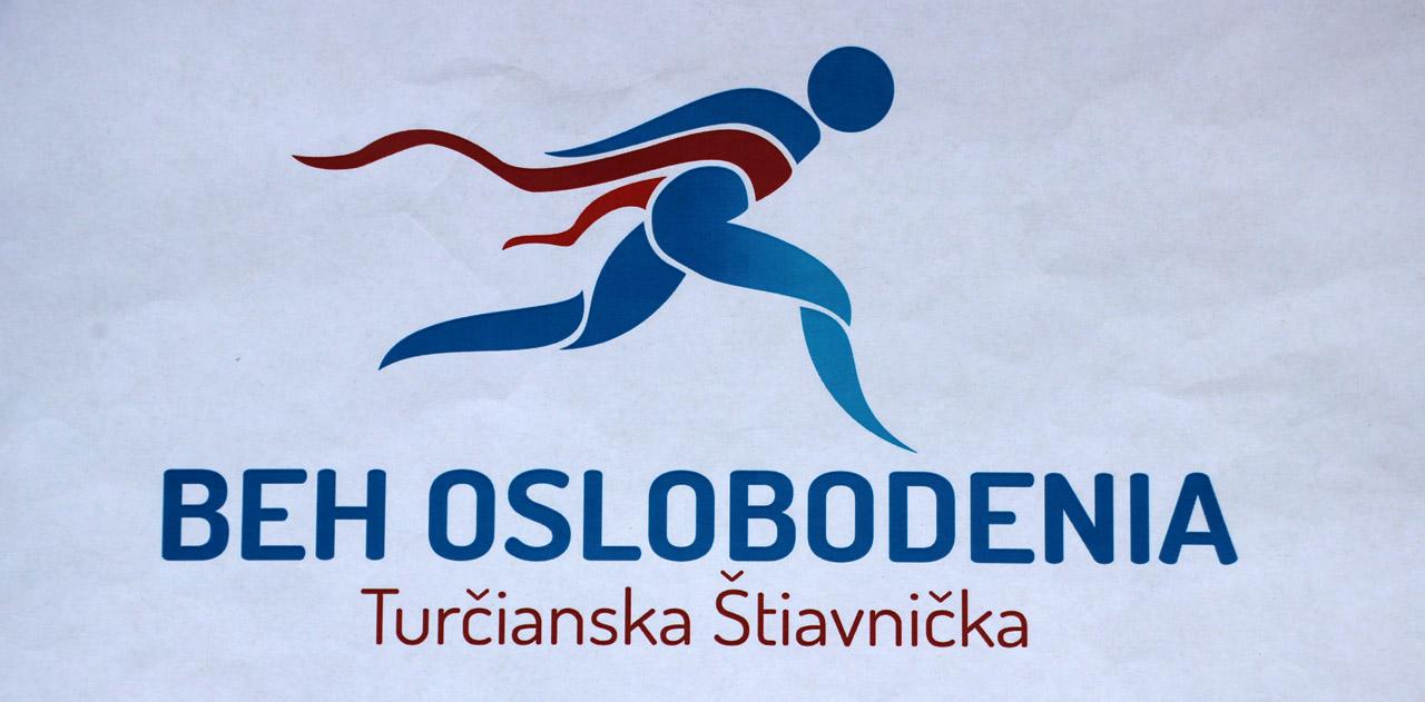 Beh oslobodenia Turčianska Štiavnička - logo