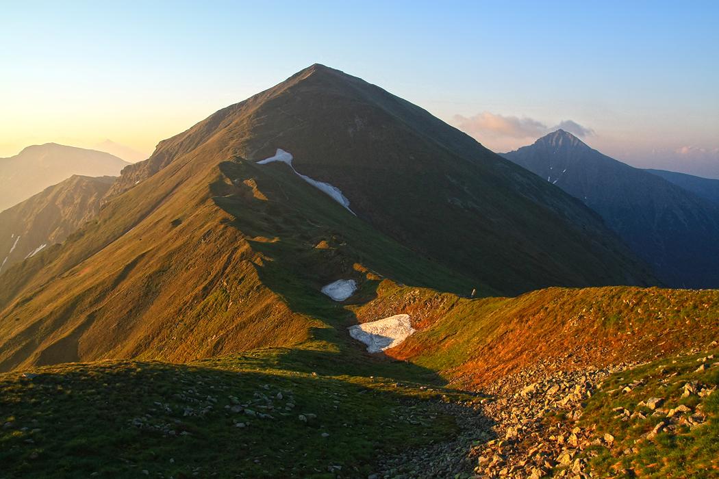 Račkovo sedlo, Západné Tatry, Račkova dolina