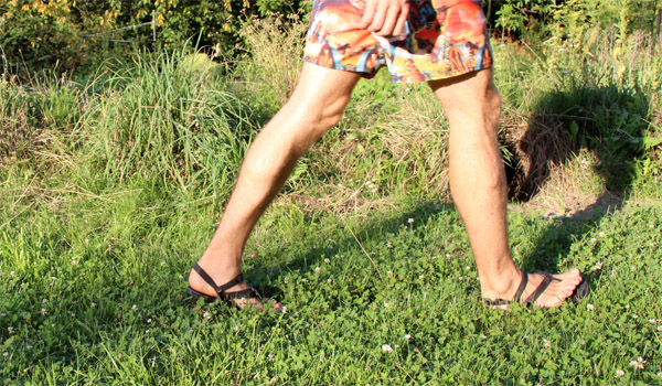 Chôdza v Luna sandáloch