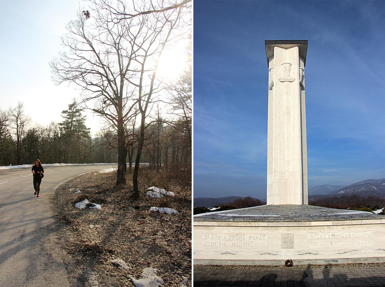 Cesta na Jankov vŕšok a pamätník SNP