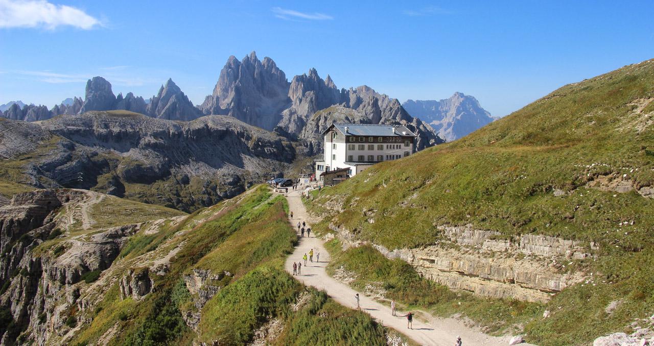 Rifugio Auronzo, Tre Cime, Dolomity