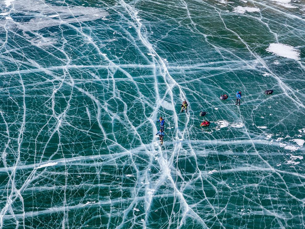 Jazero Baikal, Rusko, autor: Evgeny Dubinchuk, zdroj: travel.nationalgeographic.com