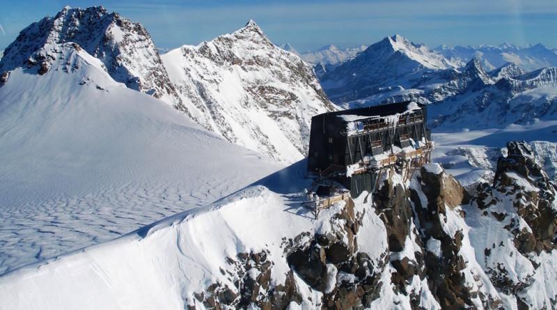 Chata Margherita Hut, Monte Rosa - Taliansko