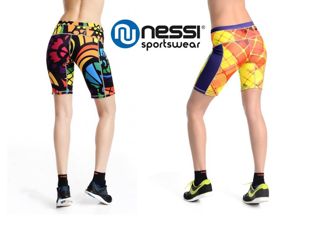 Bežecké/fitness šortky Nessi