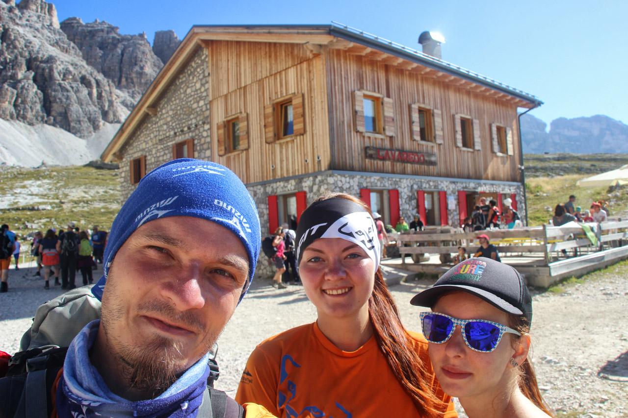 Rifugio Lavaredo, Tre Cime, Dolomity