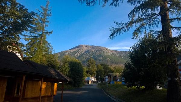 Prvé pohľady spod Slavkovského štítu pre Tatranksou šelmou ultra