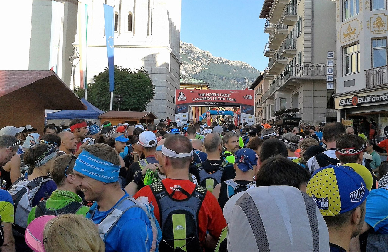 Cortina Ultra Trail - na štarte