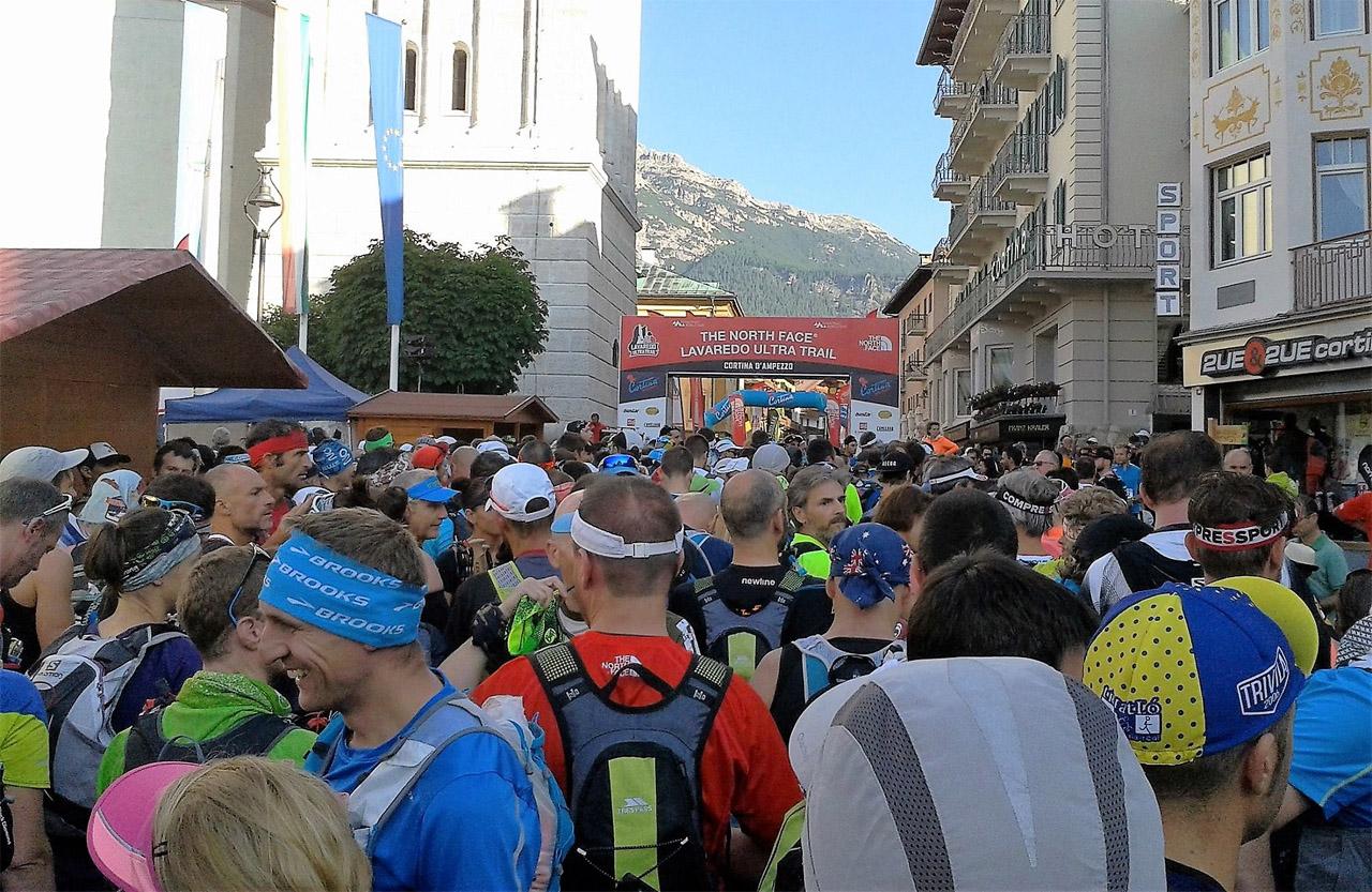 Cortina Ultra Trail - na štarte