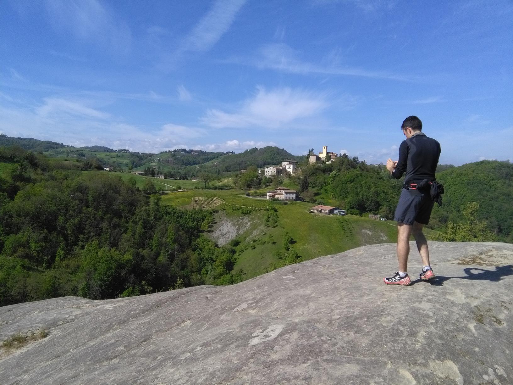 Trail Della Riva - Sasso di Sant'Andrea (skala Sv.Andrea)