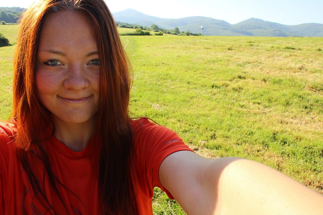 Selfí s cieľovými kopčekmi