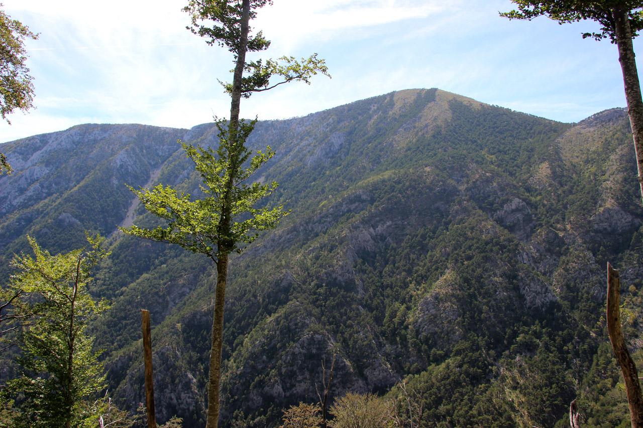 vrch Golič, NP Paklenica