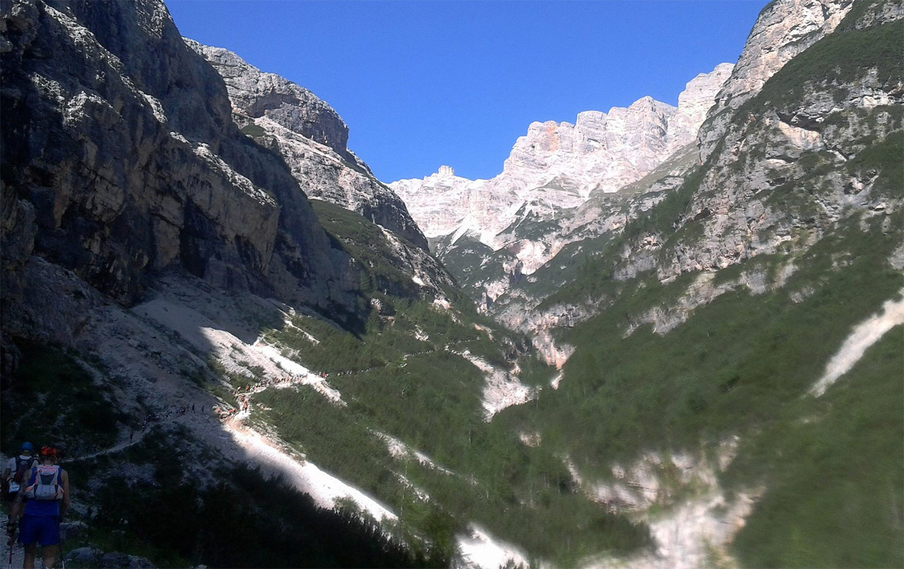trasa Cortina Ultra Trail