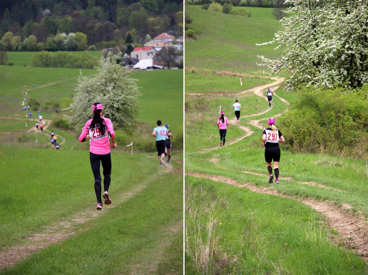 bežci na trati