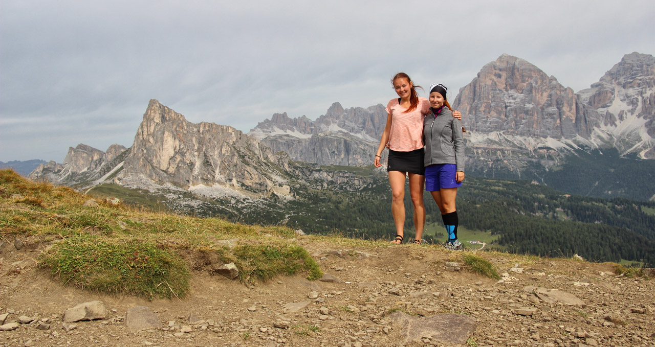 Forcella di Giau, Dolomity