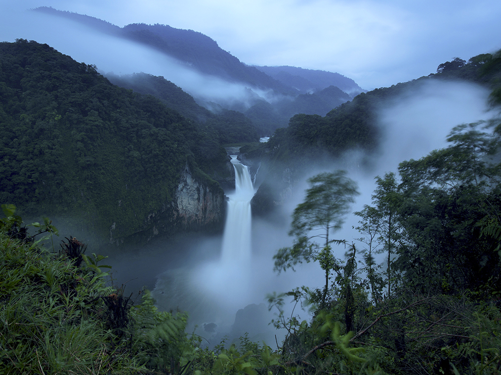 Vodopády San Rafael, Ekvádor, autor: Ivan Kashinsky, zdroj: travel.nationalgeographic.com