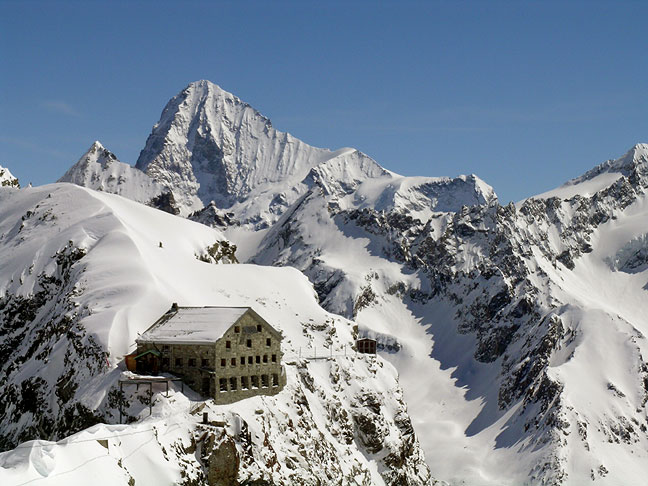 Horská chata Vignettes Hut, Pigne d'Arolla-Švajčiarsko, zdroj: cosleyhouston.com