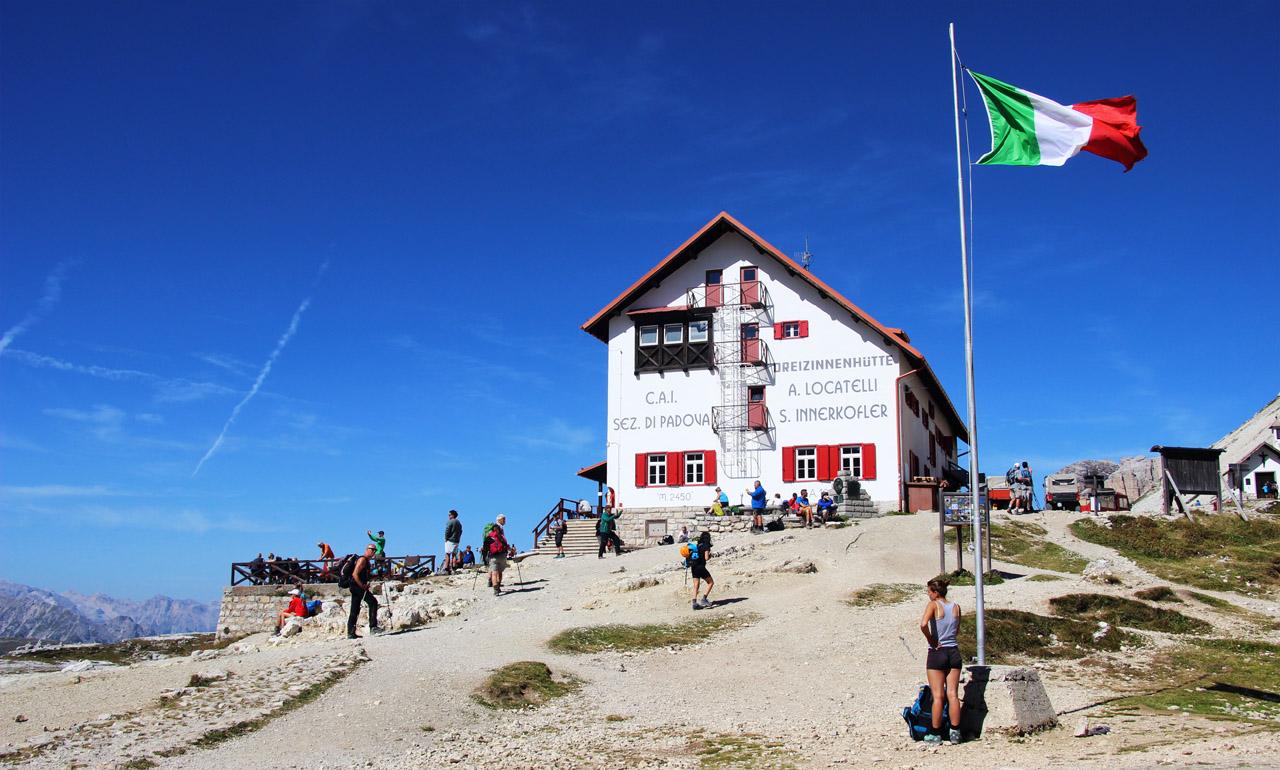 Rifugio Locatelli, Dolomity