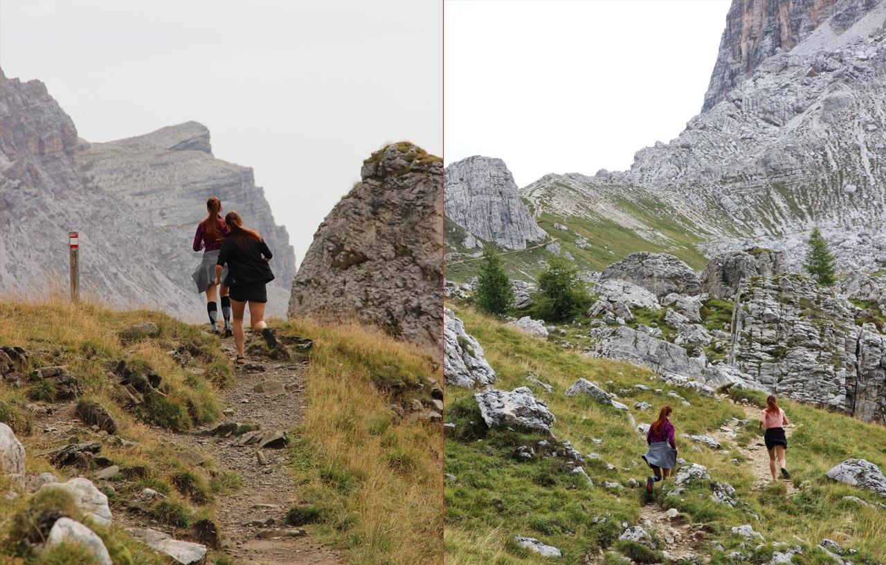 Pod Forcella Ambrizzola, Dolomity
