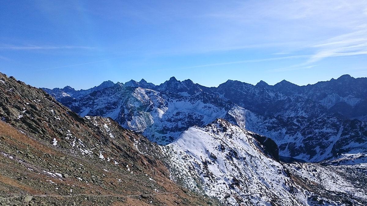 Dolina 5 Stawow zo sedla Zawrat, Vysoké Tatry