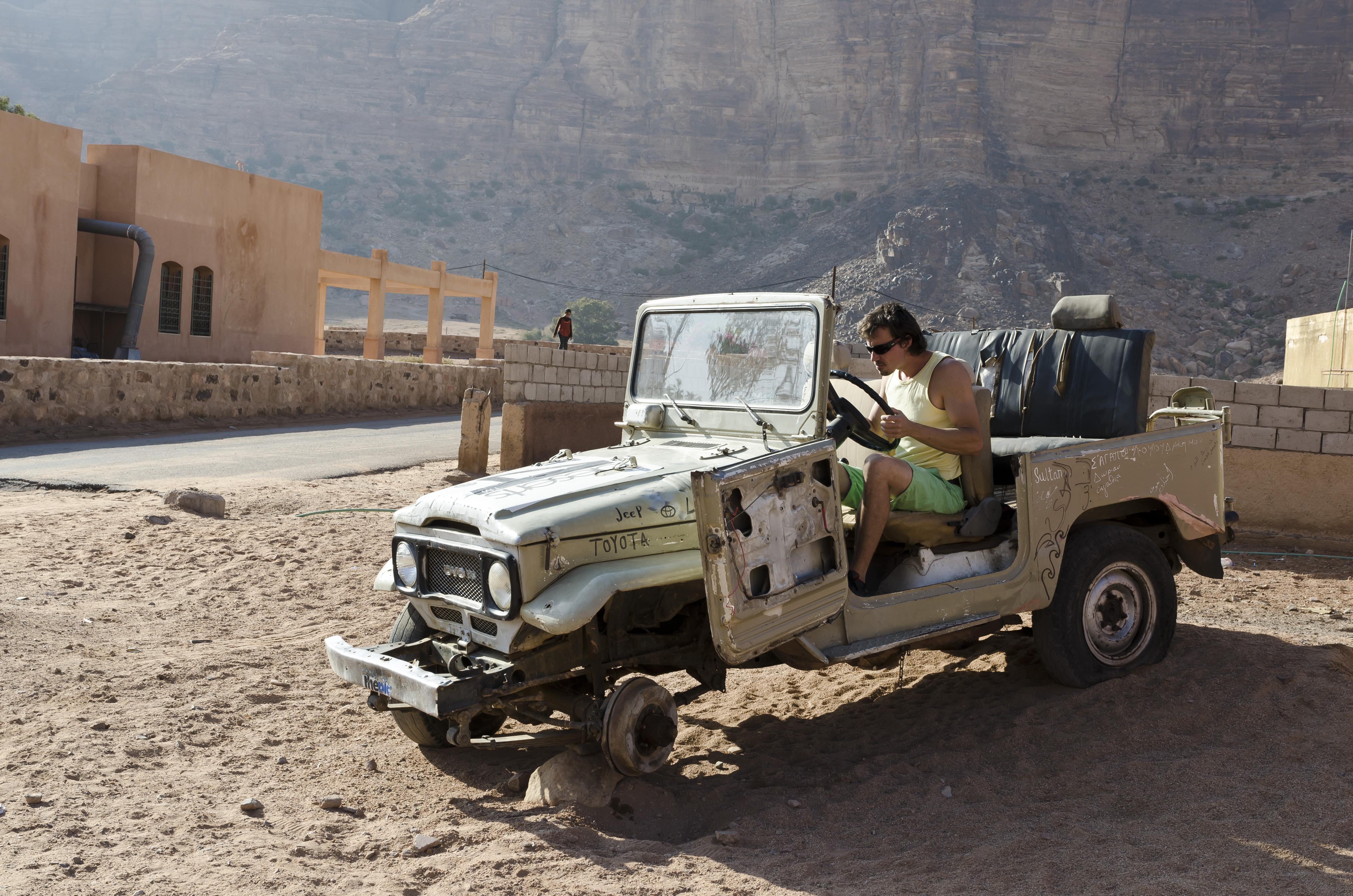 Maťo ako nekompromisný jeep racer