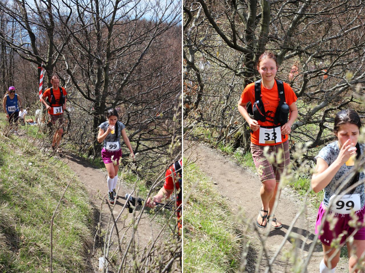 Endorfun trail 2016 - Katka na trati