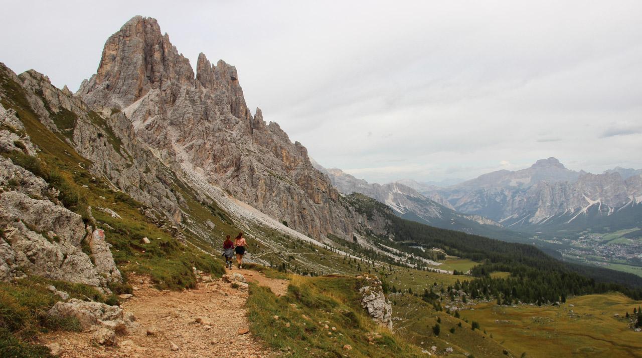 Rifugio Croda di Lago, Cima Ambrizzola, Dolomity