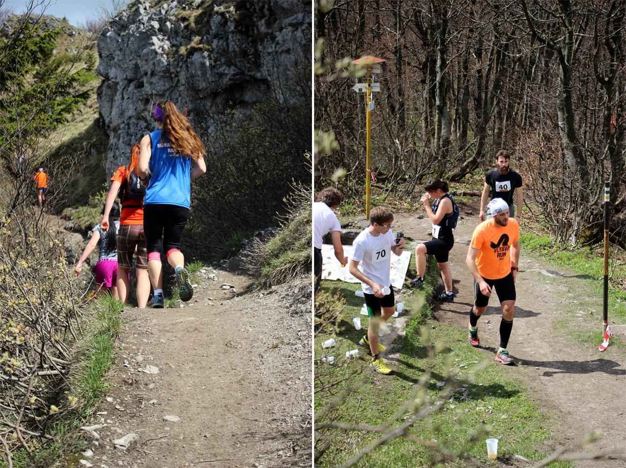 Endorfun trail 2016 - bežci na trati