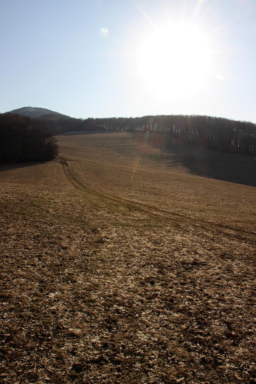 Z Lúčok k Ostrému vrchu v zime