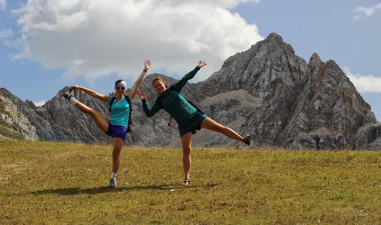 Pod Rifugio Tondi, Dolomity