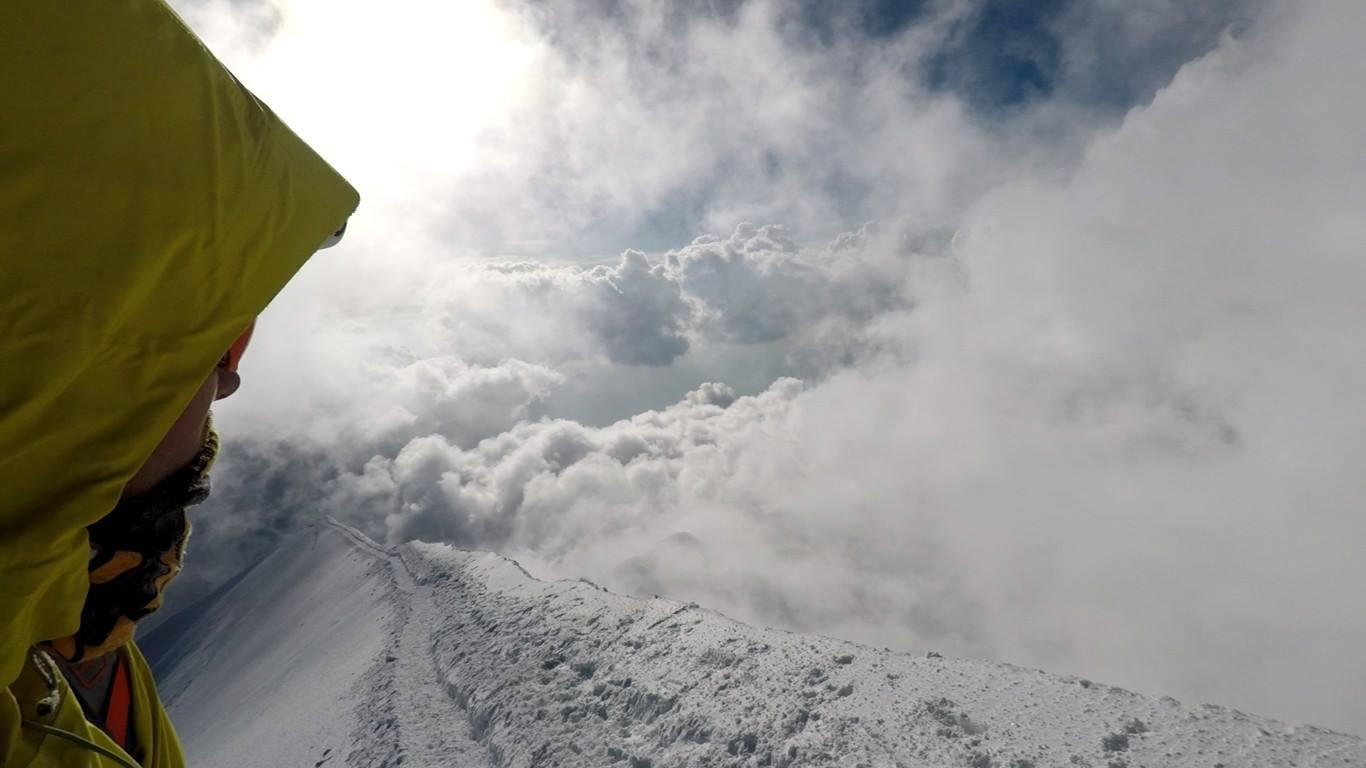 Innominata Integrale a konečne na vrchole mt. Blancu