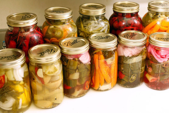 pickles zelenina nakladana zelenina kvasena zelenina