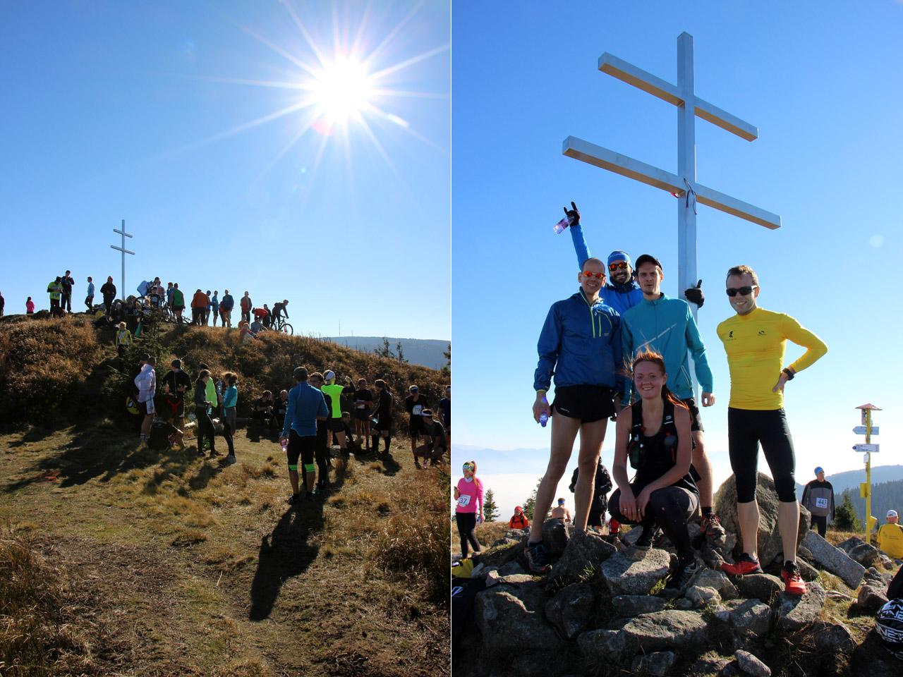 Beh na Minčol 2015 - na vrchole