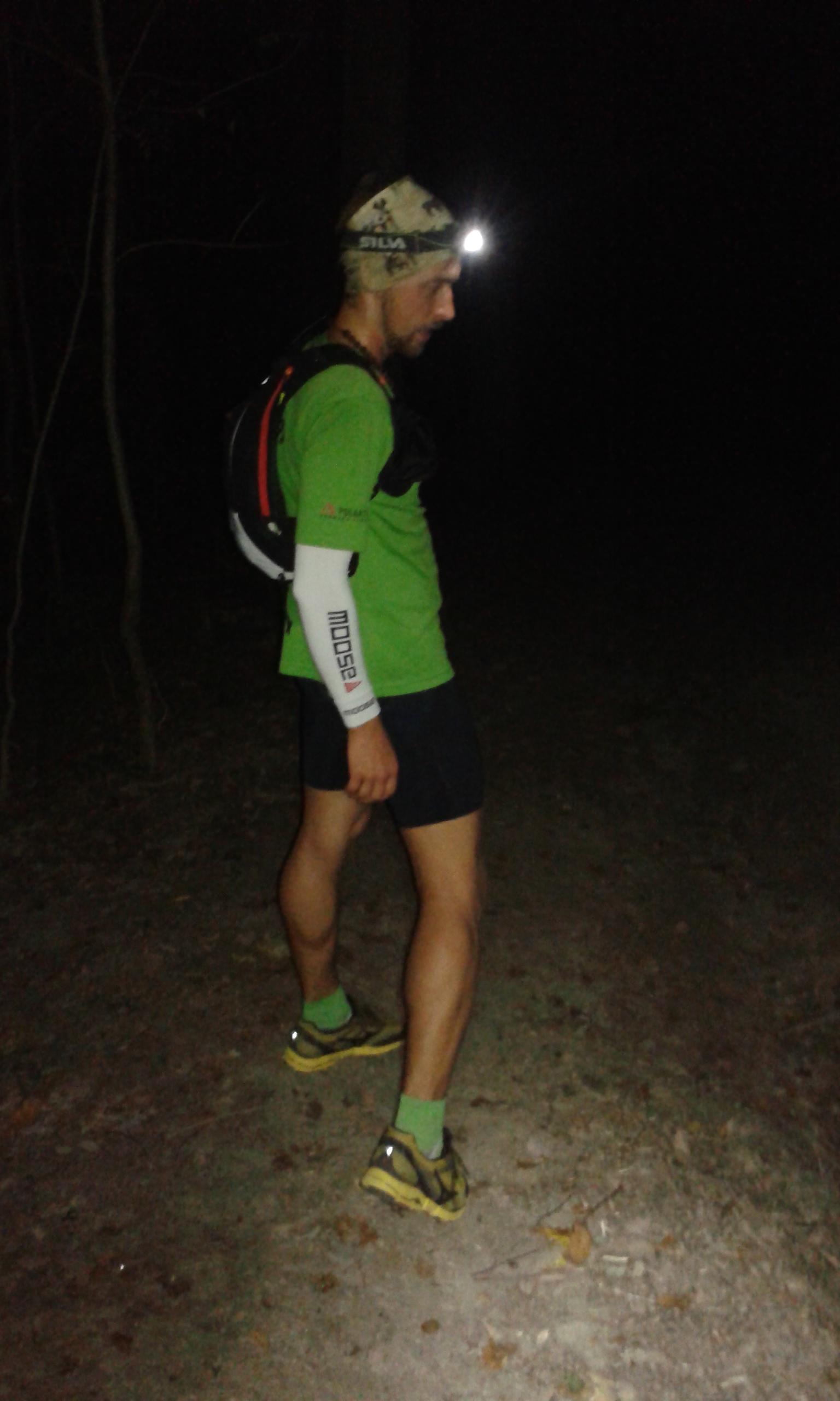 Mizuno Mujin počas nočných tréningov
