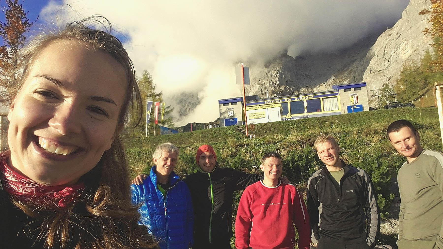 Dachstein I - Taká záverečna s celou expedíciou