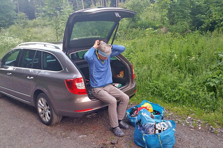 Rudo HAJCUIK pocas lezeckého projektu na Kaľamárke