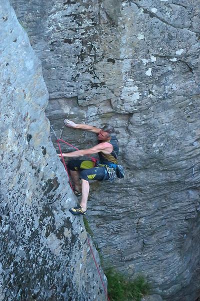 Slovenské skaly, Kaľamárka, lezie Peťo