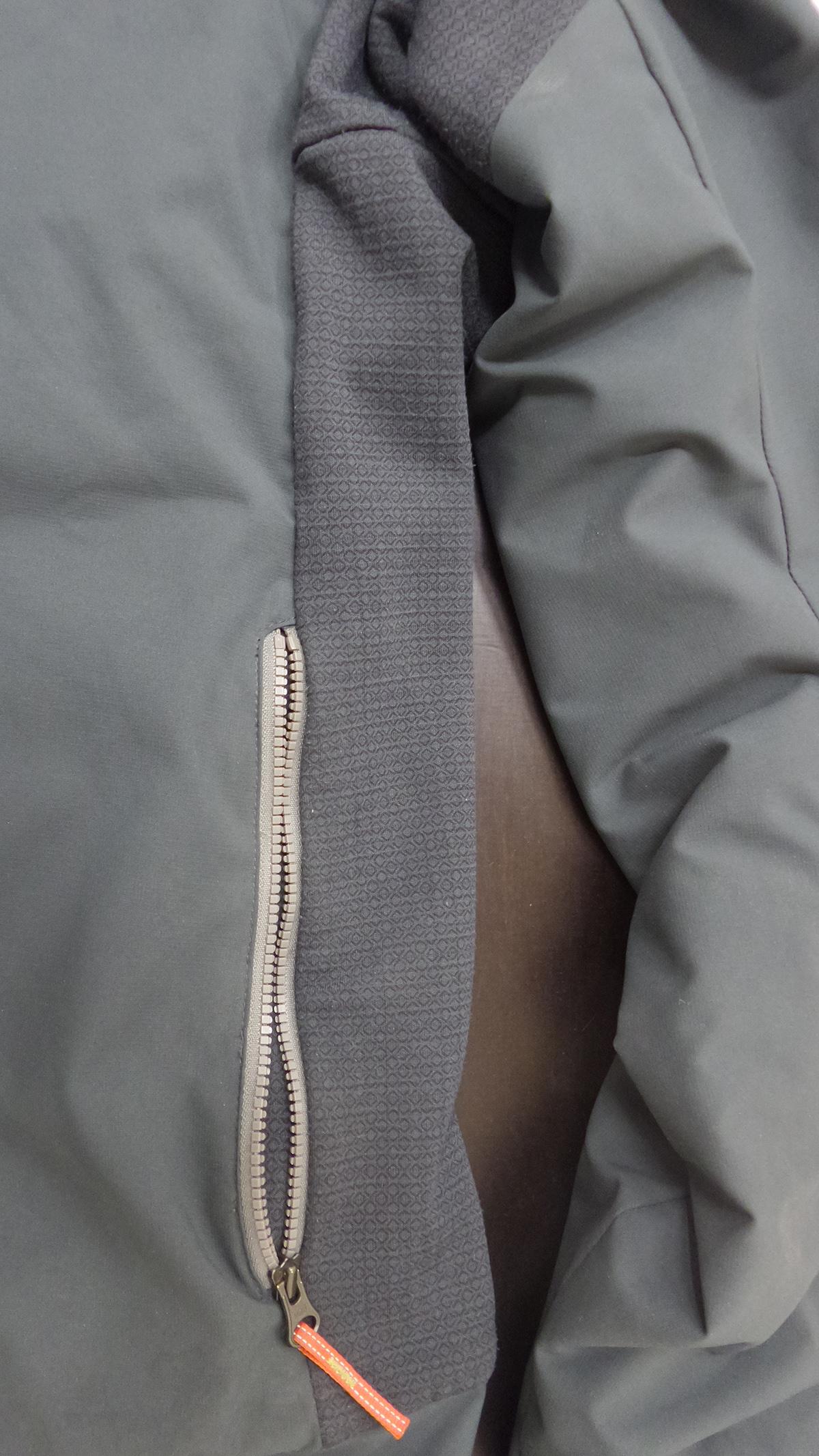 KArpos Life bunda bocné zipsy a vetranie