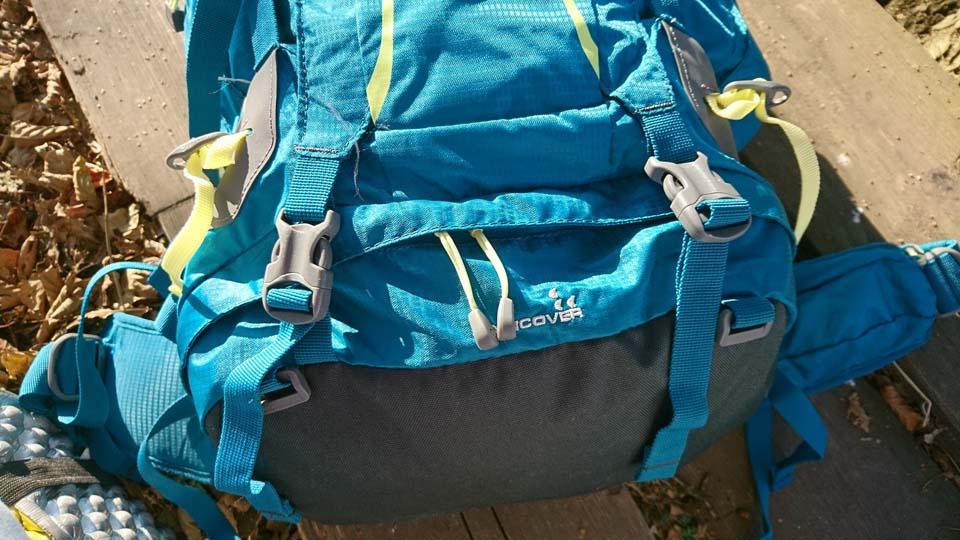 Spodná komora Ferrino Finisterre 40 Lady - turistický batoh