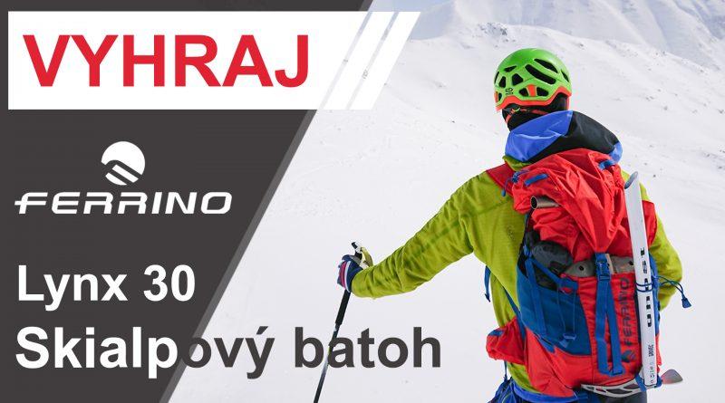 Súťaž o skialpový batoh Ferrino Lynx 30