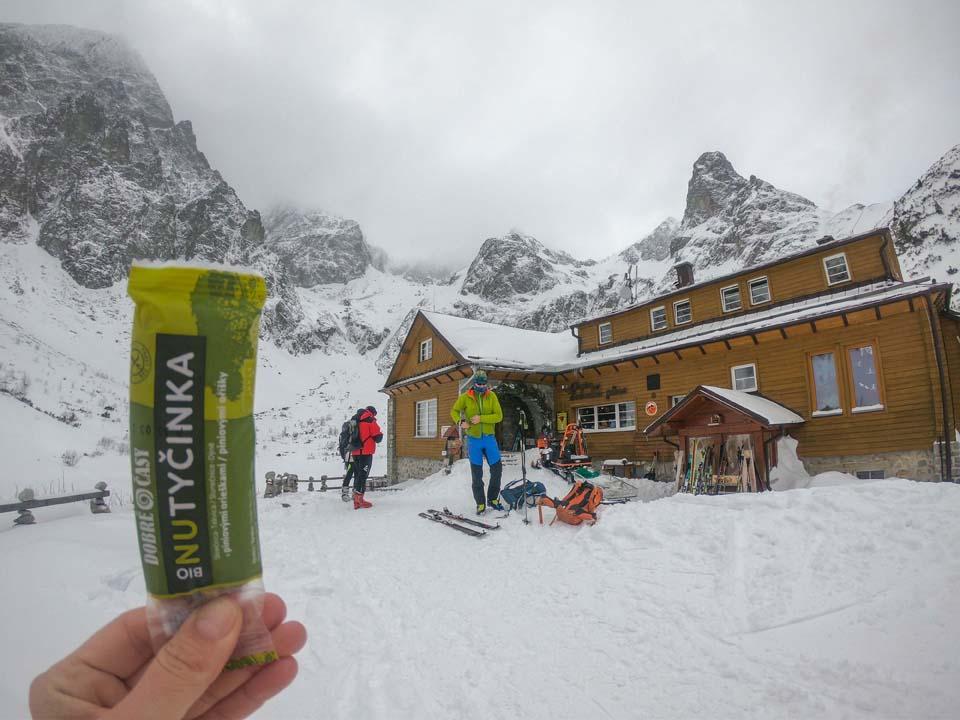 Nutyčinka Dobré časy dodá zdravú energiu pri pohybe v horách