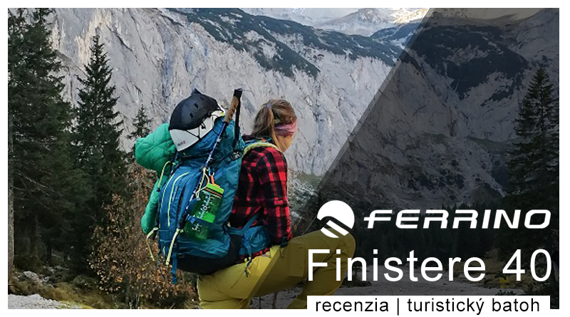 Ferrino Finistere 40 turistický batoh recenzia