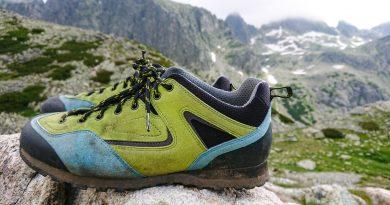 BOSP Grifit ako trekingová, feratová a nástupová topánka